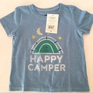 """NWT Life Is Good Toddler """" Happy Camper"""" 4T 🏕"""